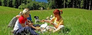 Picknick im Schlosspark Kassegg