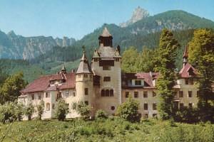 Schloss Kassegg im Gesäuse _1960