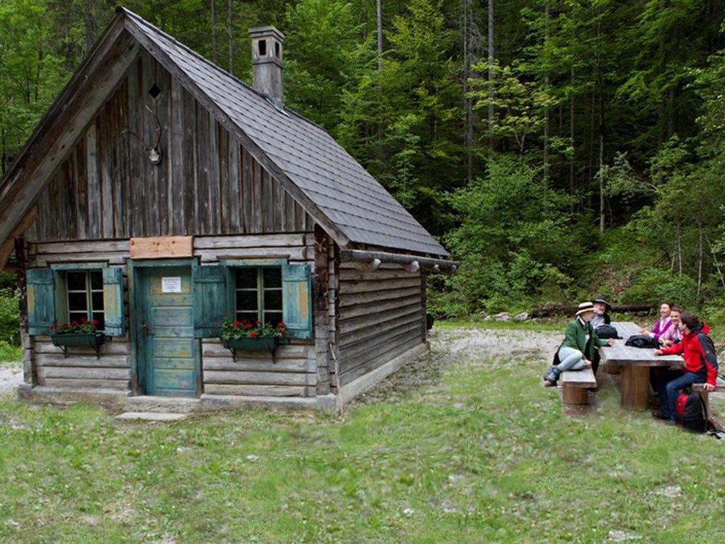 romantische Jagdhütte Schloss Kassegg