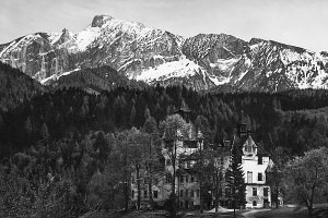 Ehemaliges Jagdschloss Kassegg in den Gesäusebergen