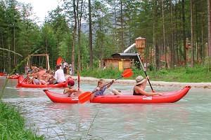 Schulprojektwoche im Schloss Kassegg_Wasser- und Erlebnispark