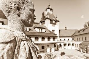 Schloss Kassegg_Schlosshof