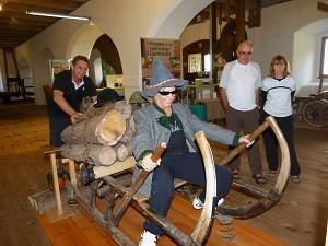 Forstmuseum in der Nähe vom Schloss Kassegg