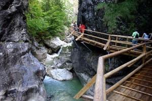 Wasserlochklamm_Ausflugsziel vom Schloss Kassegg