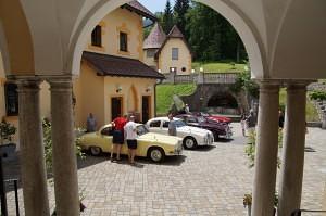 Jaguartreffen im Schloss Kassegg