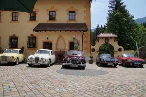 Jaguartreffen im Schloss Kassegg-Nationalpark Gesäuse