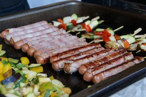 Grillbuffet im Schlossrestaurant-Kassegg