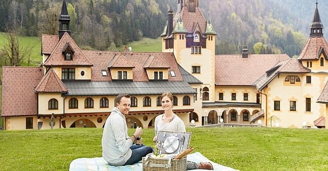 Gutschein für ein Gourmetpicknick<br />für 2 Personen im Schlosspark