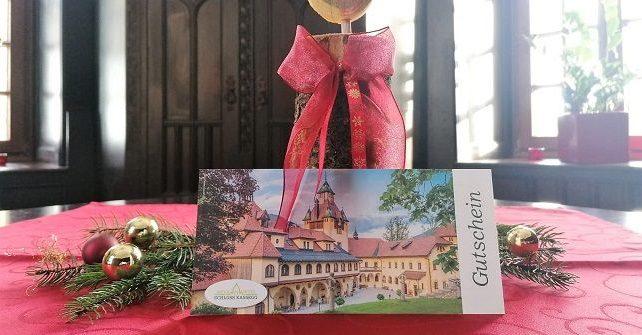 Wertgutscheine<br>von Schloss Kassegg schenken