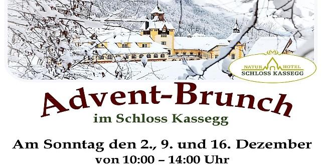 Gutschein für Adventbrunch am 2. und 9. und 16. Dezember