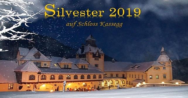 Silvester feiern im romantischen Schloss Kassegg in der Steiermark<br />  von 28.12. – 2.1. ab € 498,00
