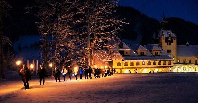 Jahreswechsel auf Schloss Kassegg<br>von 29.12. – 02.01. ab € 456,00